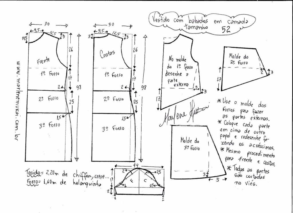 Как сшить платье 58 размера своими руками 37