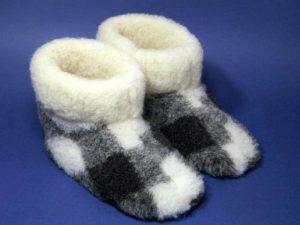 Домашние теплые сапожки (Шитье и крой)