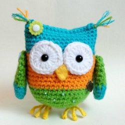 Вяжем сову крючком (Вязаные игрушки)