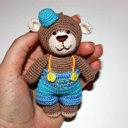 Милые мишки крючком (Вязаные игрушки)