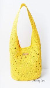 Стильная сумочка (Вязание крючком)