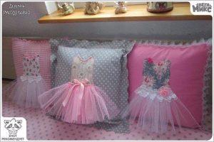 Идеи и выкройки декоративных подушек (Шитье и крой)