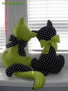 Влюбленные котики (Шьем игрушки)