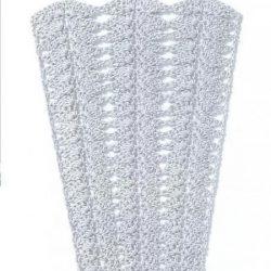 Схемы узоров для расширения полотна (Вязание крючком)