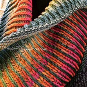 Уроки вязания в технике бриошь Brioche knitting (Уроки и МК по ВЯЗАНИЮ)