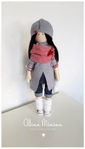 Шьем куколку. Выкройка (Шьем игрушки)