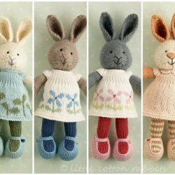 Кролик спицами (Вязаные игрушки)