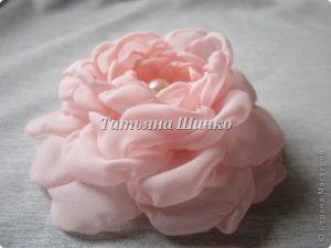 МК розы из капрона (Цветы из ткани)