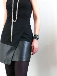 Выкройка асимметричной юбки (Шитье и крой)