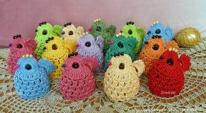 Вязаные цыплята крючком — пасхальные сувениры. Мастер-класс (Вязаные игрушки)