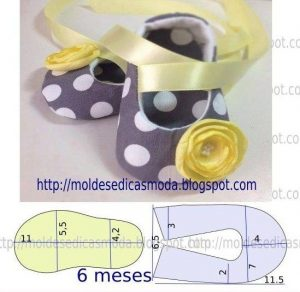 Шьём пинетки для малыша (Шитье и крой)