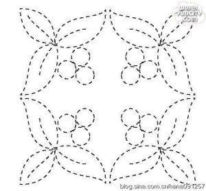 Схемы для выстегивания лоскутных покрывал (Квилтинг, Пэчворк, Аппликации)