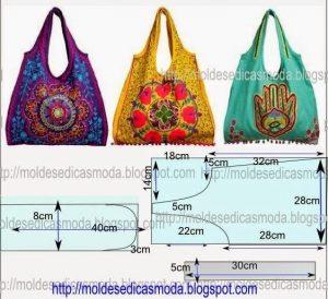 Подборка выкроек сумок (Шитье и крой)