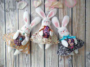 Шьем милых кроликов к Пасхе (Шьем игрушки)