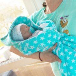 Конверт на выписку для новорожденных (Шитье и крой)