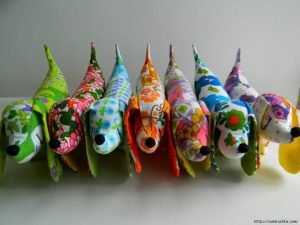 Такса из ткани выкройка (Шьем игрушки)