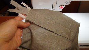 Застежка молния на брюках с откоском (Шитье и крой)