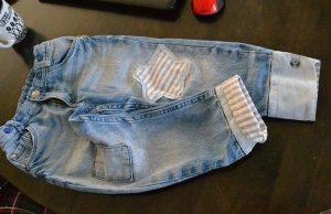 Как удлинить детские джинсы (Шитье и крой)