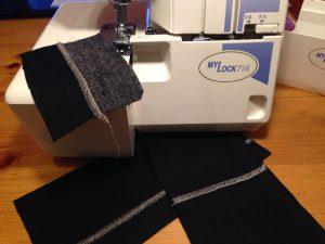 Как выполнить плоский шов на оверлоке?  (Шитье и крой)