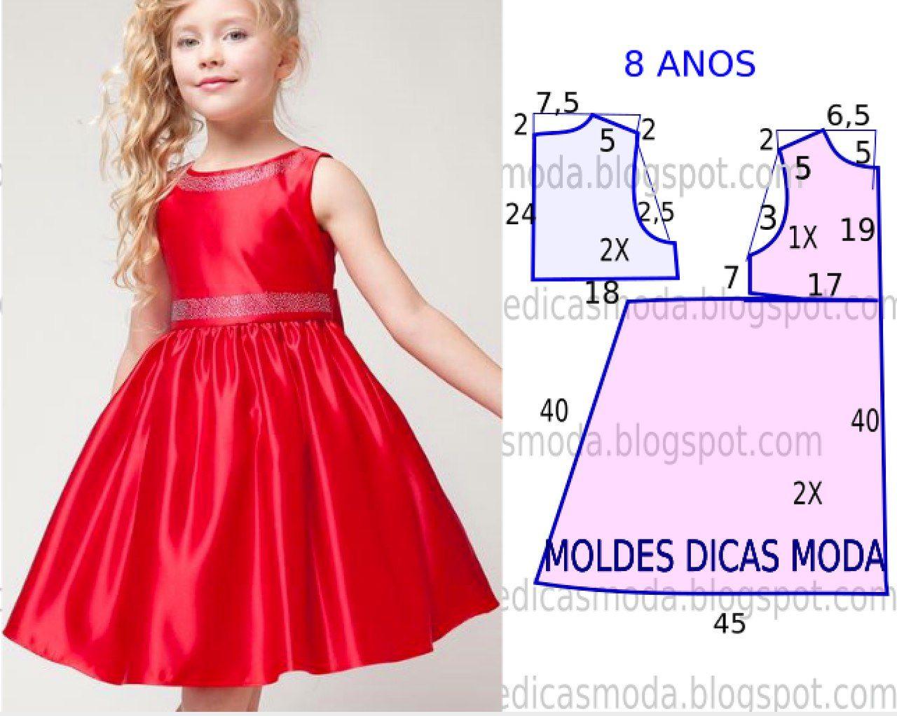 Сшить нарядное платье для девочки 6 7 лет