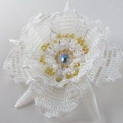 Цветы из бисера схема плетения (Бисероплетение)