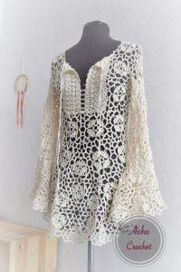 Потрясающая туника от Aisha crochet (Вязание крючком)