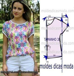 Выкройки летних блузок (Шитье и крой)