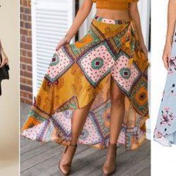 Выкройка модной юбки. Размеры 36-56 (Шитье и крой)