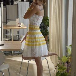 Платье крючком схемы и описание (Вязание крючком)
