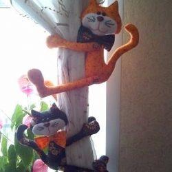 Прихваты-котики для штор своими руками выкройки (Шитье и крой)
