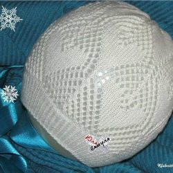 Весенняя шапочка (Вязание спицами)