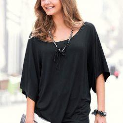 Блуза с цельнокроенным рукавом (Шитье и крой)