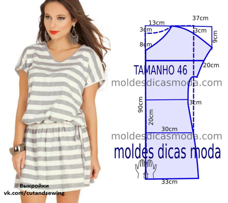 Сшить платье из трикотажа масло 26