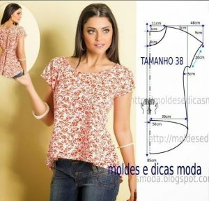 Блузки своими руками легко и быстро выкройки (Шитье и крой)