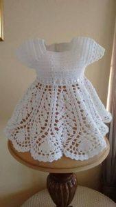 Платье крючком для девочки + схема реглана крючком для детей (Вязание крючком)