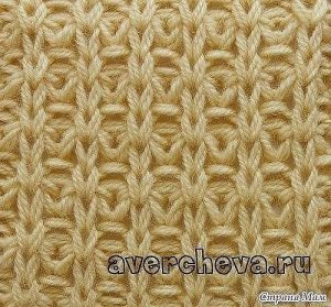 Красивый узор спицами для вязания плотных вещей (УЗОРЫ СПИЦАМИ)