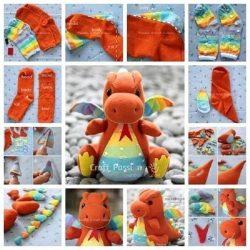 10 простых игрушек из носков (Шьем игрушки)