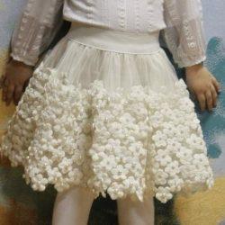 Шьем юбочку для девочки (Шитье и крой)