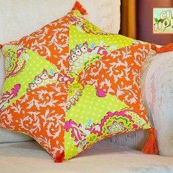 Шьем шестиугольную подушку (Шитье и крой)