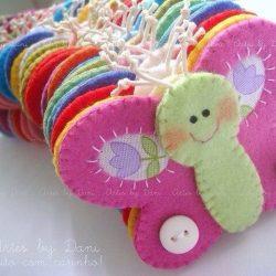 Бабочки из фетра (Шьем игрушки)