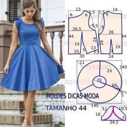 Выкройка платья солнце (Шитье и крой)