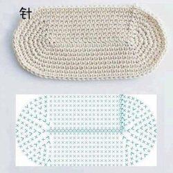 Правильные овалы и круги. Подборка схем (Вязание крючком)