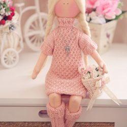 Текстильная куколка. Выкройка (Шьем игрушки)