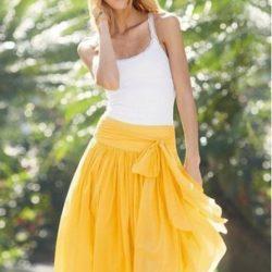 Построение чертежа юбки-солнце (Шитье и крой)