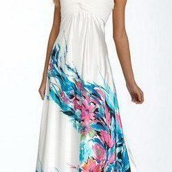 Выкройка летнего платья сарафана (Шитье и крой)