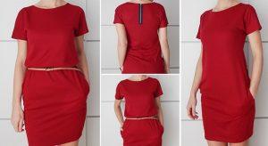Выкройка платья с цельнокроеным рукавом (Шитье и крой)