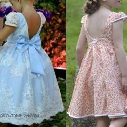 Выкройка детского платья (Шитье и крой)
