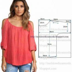 Простые выкройки блузок (Шитье и крой)