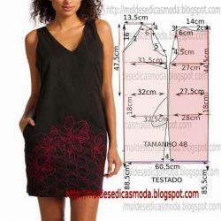 Простая выкройка летнего платья для начинающих (Шитье и крой)