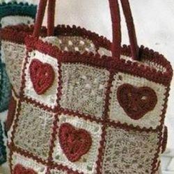Сумочки вязанные крючком (Вязание для дома)